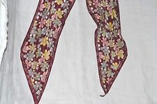 Elaine Gold for Collection Silk Neck Scarf Vtg vintage