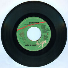 Philippines WHEN IN ROME The Promise 45 rpm Record