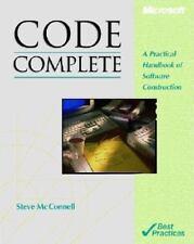 Code Complete [Microsoft Programming]
