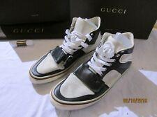 e4b6ea3d92 Gucci GG Supreme High-Top Sneaker Size 12 mens black and white