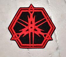Mech-Tech Red Ironon PATCH Aufnäher Parche brodé patche toppa joke - logo yamaha