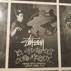 Old Stussy Poster Advertising