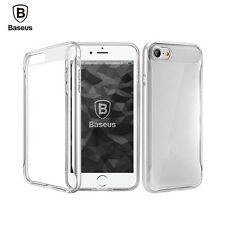 Baseus For iPhone 7/7plus Slim Silicone Soft TPU&PC Double Protection Case Cover