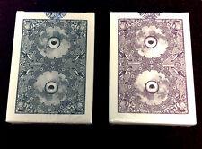 Owl Eyes Black And Purple 2-Deck Set (2013)