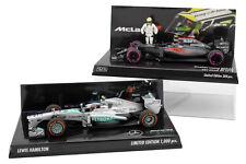 Minichamps 1/43 Jenson Button Abu Dhabi 2016 Lewis Hamilton USA 2013 Mikilee F1