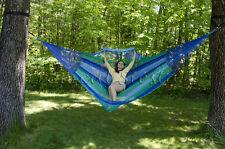 New Nylon Jumbo Mexican Hammock | XXXL Breezy Point® Mayan Hammocks Handwoven