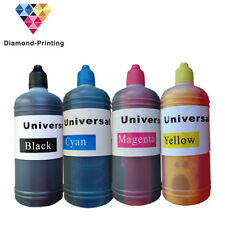 4x 100ml Printer Refill to replace Canon Epson Brother HP Lexmark ink Bottles