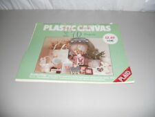 Plastic Canvas Super Book 70 Projects Pattern Book baby door decor magnets frame