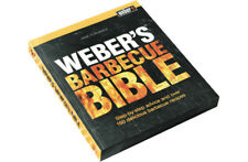 Weber Barbecue BBQ Q Bible Book 991165 - master chef and guides recipe cooking