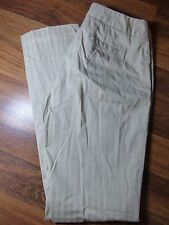 TRIBAL Stretch Extensible Khaki Ribbed Long Pants Ladies Size 6 Style 52990-746