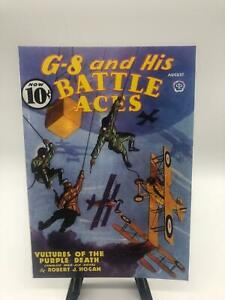 Reprint G-8 and His Battle Aces #35 Vultures of the Purple Death Aug 1936 2010