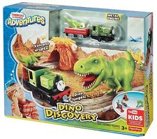 Thomas & Friends Adventures Dino Discovery Train Set - NEW Fisher Price