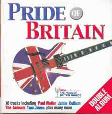 PRIDE OF BRITAIN: PROMO 2 CD SET: THE FARM, SWEET, PILOT, PAUL WELLER, ANIMALS
