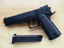 Airsoft Gun Ukarms G153B Black 1911 Style Spring Powered Pistol 6mm BB BBs