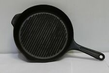 """AGA Black Cast Iron 11"""" 29 cm Cooking Griddle Grill Frying Pan - 250"""