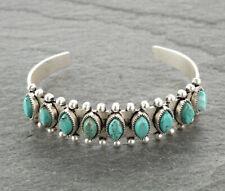 NWT Western Natural Stone Turquoise Cuff Bracelet #3b - Turquoise Bracelet