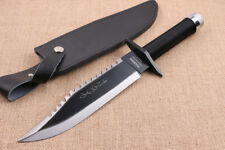 Rambo First Blood Boot Dagger Survival Fixed Bowie Camping Hunting Knife P2