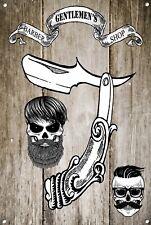 Salon de coiffure signal métallique décoration Signe murale plaques 1017