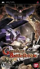 Used PSP BANDAI Gundam Battle Royale SONY PLAYSTATION JAPAN IMPORT