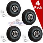(4 Pack) W10314173 Dryer Drum Roller WPW10314173, AP6019303, PS11752609 8536974 photo