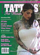 TATTOOS FOR WOMEN Issue #116 - Tiffany Tattooz (2016) NEW - FREE SHIP!