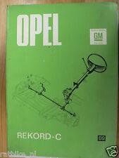 OP02-OPEL RECORD C STUURINRICHTING EN VOORWIELUITLIJNIN