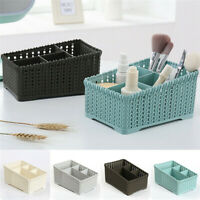 Storage Basket Plastic Box Bin Clothes Container Laundry Holder Home Organizer