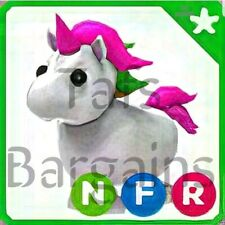 Roblox Adopt Me! Neon Fly Ride Unicorn (NFR) LEGENDARY PET