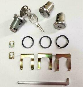 NEW 1969-1978 Pontiac Grand Prix Door & Trunk Lock set with GM Keys