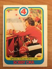 1978 79 O Pee Chee OPC Bobby Orr #300 Boston Bruins Chicago Black Hawks HOF