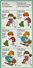 Canada - Easter Seals, VF, NH. Full Sheet of 6 #4