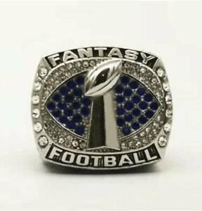Ring of 2021 FFL Fantasy Football League Champion Championship Rings HOT