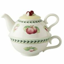Villeroy and Boch FRENCH GARDEN CHARM Tea Pot & cup For One NEW