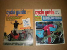 1968 January & February -  CYCLE GUIDE MAGAZINE