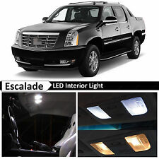 18x White LED Light Interior Package for 2007-2014 Cadillac Escalade EXT