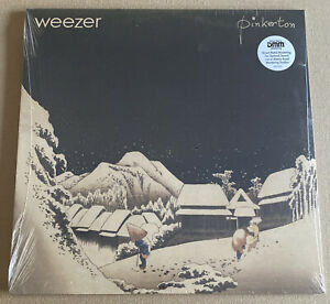 WEEZER! PINKERTON!! VINYL LP! W/ 12X12 INSERT!! FACTORY SEALED! MINT!