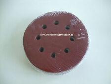 Exzenterschleifscheib Adhesivas Discos de Lija de 120 Piezas de Velcro Ø125 mm