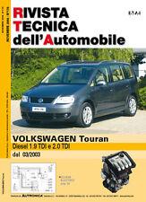 Manuale tecnico di riparazione e manutenzione dell'auto-Volkswagen Touran