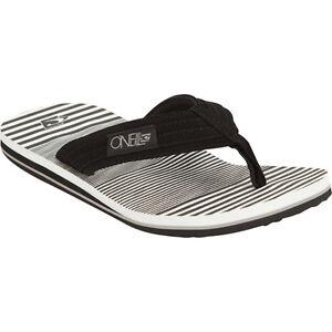 O'Neill Imprint Boys Black Sandals Flip Flops Size Medium 10/12 Brand New