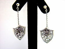 Diamonds by Roccia Silver King's Earrings with