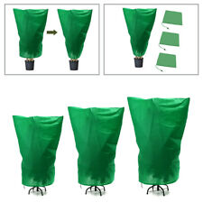 More details for 4 size green warm plant covers tree shrub frost protection bag yard garden new