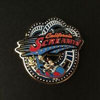 DCA California Screamin FAB 4 Slider Goofy Donald Minnie Retired Disney Pin 3535
