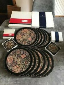 12x Pimpernel Vintage placemats and coasters boxed