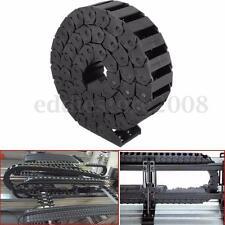 15 x 30mm Nylon Cable Towline Tank Drag Chain Bridge Machine Engraving Machine