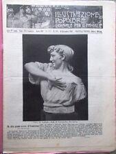 L'illustrazione Popolare 8 Settembre 1907 Locomotive Adelina Patti Perosi Poveri