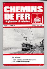 Chemins de Fer régionaux et urbains-197-1986 -Cent ans de la SNCV Belge Lisbonne