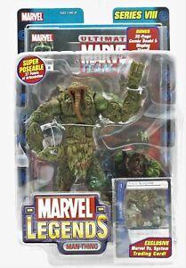 "New Sealed 2004 Marvel Legends Series VIII ""Man-Thing"" Figure ToyBiz"