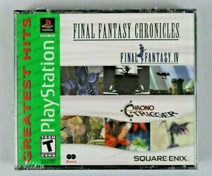 Final Fantasy Chronicles Final Fantasy IV 4 & Chrono Trigger - PlayStation 1 PS1