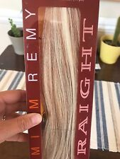 "14"" Euronext 'Blonde Frost' Clip-in Remy Straight Human Hair Extensions✨"