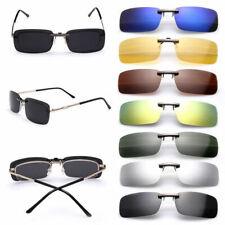 Sunglasses Polarized Clip On Driving Glasses Night Vision Lens UV400 Eyewear New